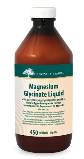 Picture of Genestra Brands Magnesium Glycinate Liquid, 450ml