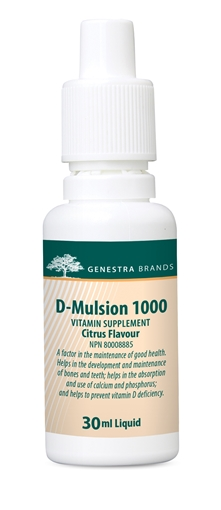 Picture of Genestra Brands D-Mulsion 1000 (Citrus), 30ml