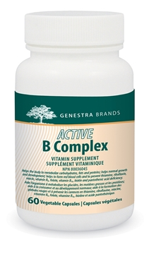 Picture of Genestra Brands Active B Complex, 60 Vegetable Capsules