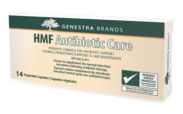 Picture of  HMF Antibiotic Care, 14 Vegetable Capsules