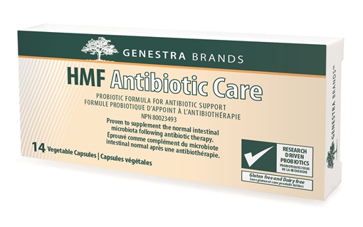 Picture of Genestra Brands HMF Antibiotic Care, 14 Vegetable Capsules