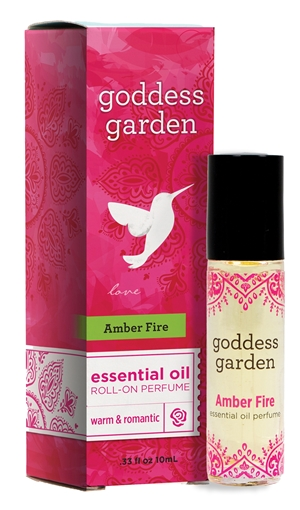 Picture of Goddess Garden Goddess Garden Essential Oil Roll-On Perfume, Amber Fire 10ml