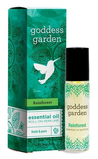 Picture of Goddess Garden Goddess Garden Essential Oil Roll-On Perfume, Rainforest 10ml