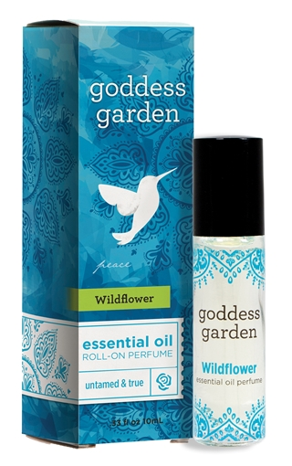 Picture of Goddess Garden Goddess Garden Essential Oil Roll-On Perfume, Wildflower 10ml