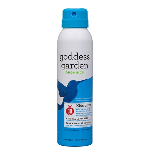 Picture of Goddess Garden Goddess Garden Kids Sport Natural Sunscreen Continuous Spray SPF 30, 177ml