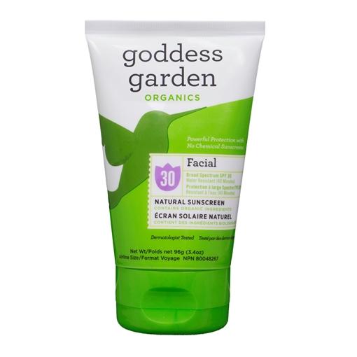 Picture of Goddess Garden Goddess Garden Facial Natural Sunscreen Lotion SPF 30, 105ml