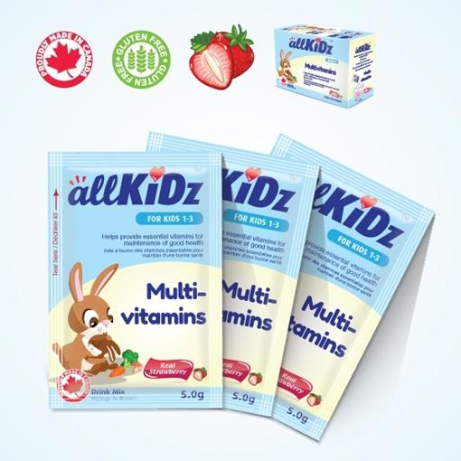 Picture of Allkidz Naturals Inc. AllKidz Naturals Multivitamins Drink Mix, 5gx30pk