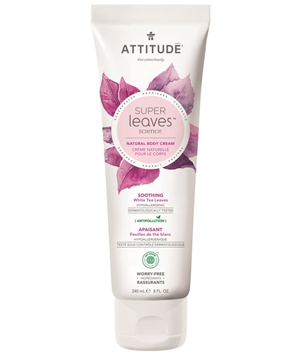 Picture of Attitude ATTITUDE Super Leaves Soothing Body Cream, 240ml