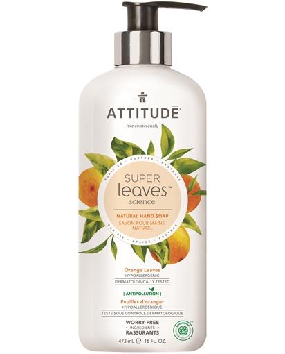 Picture of Attitude ATTITUDE Super Leaves Hand Soap, Orange Leaves 473ml