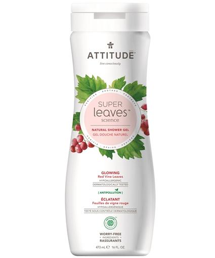 Picture of Attitude ATTITUDE Super Leaves Glowing Body Wash, 473ml