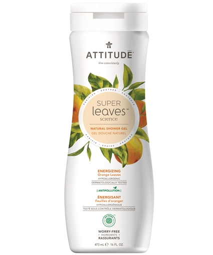 Picture of Attitude ATTITUDE Super Leaves Energizing Body Wash, 473ml