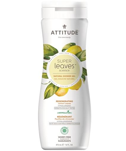 Picture of Attitude ATTITUDE Super Leaves Regenerating Body Wash, 473ml