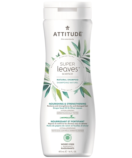 Picture of Attitude ATTITUDE Super Leaves Nourishing & Strengthening Shampoo, 473ml