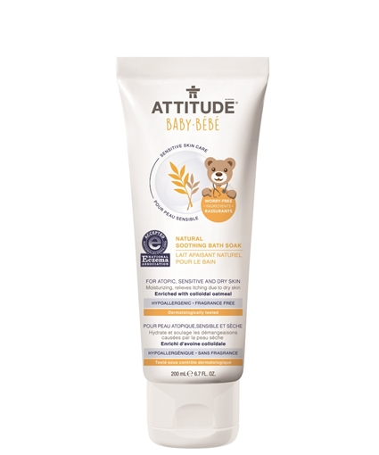 Picture of Attitude ATTITUDE Baby Natural Soothing Bath Soak, Fragrance Free 200ml