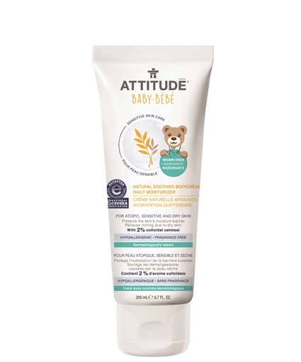 Picture of Attitude ATTITUDE Baby Natural Soothing Body Cream, 200ml