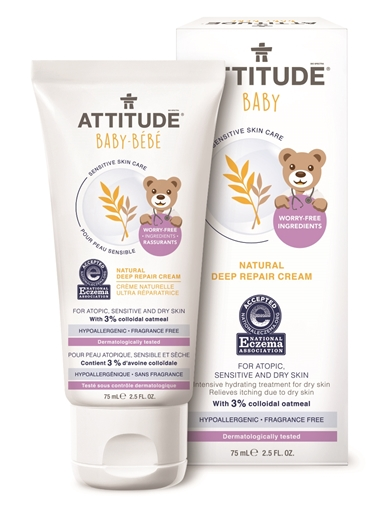 Picture of Attitude ATTITUDE Baby Natural Deep Repair Cream, 75ml