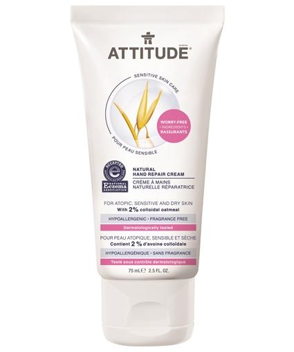 Picture of Attitude ATTITUDE Natural Hand Repair Cream, Fragrance Free 75ml