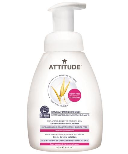 Picture of Attitude ATTITUDE Natural Foaming Hand Wash, 250ml