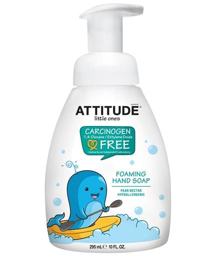 Picture of Attitude ATTITUDE Foaming Hand Soap, Pear Nectar 295ml