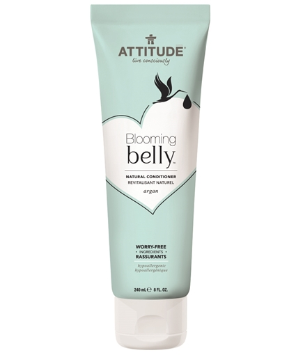 Picture of Attitude ATTITUDE Blooming Belly Natural Argan Conditioner, 240ml