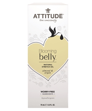 Picture of  ATTITUDE Natural Almond & Argan Stretch Oil, 75g