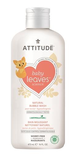 Picture of Attitude ATTITUDE Baby Bubble Wash, Pear Nectar 473ml