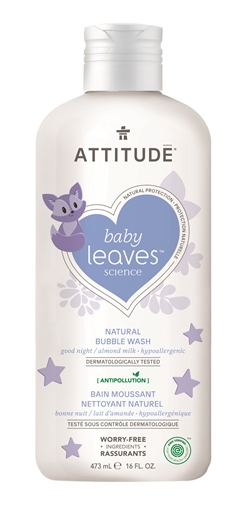 Picture of Attitude ATTITUDE Baby Almond Milk Bubble Wash, 473ml