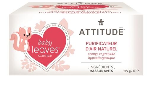 Picture of Attitude ATTITUDE Baby Air Purifier, Orange Pomegranate 227g