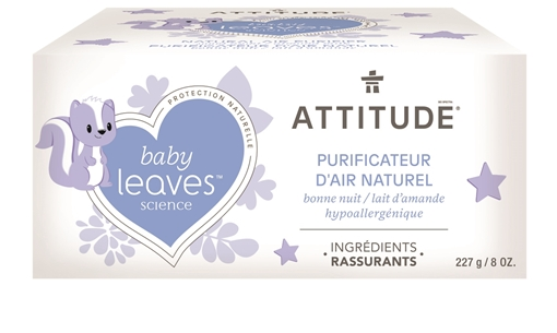 Picture of Attitude ATTITUDE Baby Air Purifier, Almond Milk 227g