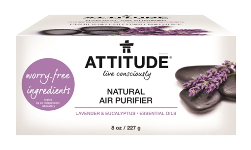 Picture of Attitude ATTITUDE Air Purifier, Eucalyptus & Lavender 227g
