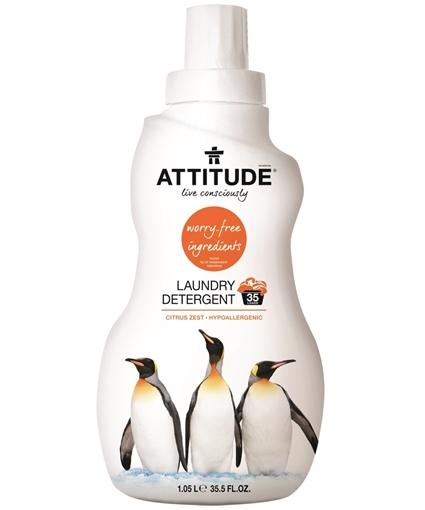 Picture of Attitude ATTITUDE 2x Laundry Detergent, Citrus Zest 1.05L