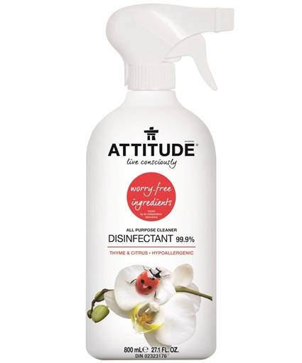Picture of Attitude ATTITUDE Disinfectant Spray, 800ml