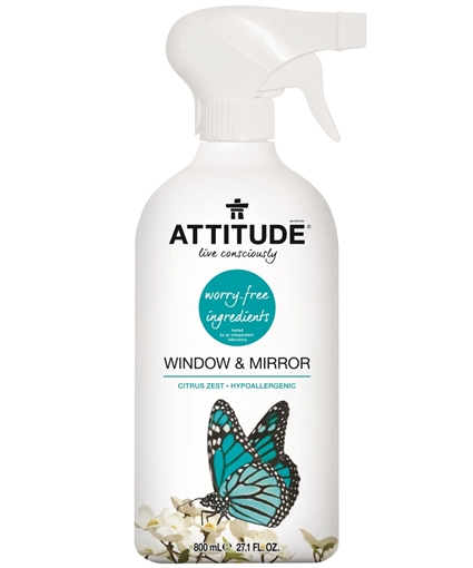 Picture of Attitude ATTITUDE Window & Mirror Cleaner, 800ml