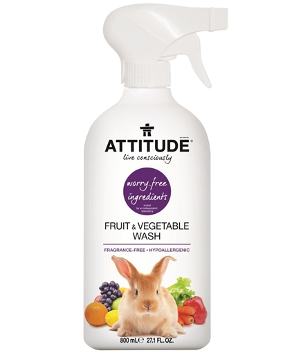 Picture of Attitude ATTITUDE Fruit & Vegetable Wash, 800ml