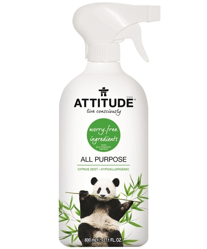 Picture of Attitude ATTITUDE All Purpose Cleaner, Citrus Zest 800ml