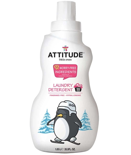 Picture of Attitude ATTITUDE Little Ones Laundry Detergent, Fragrance Free 1.05L