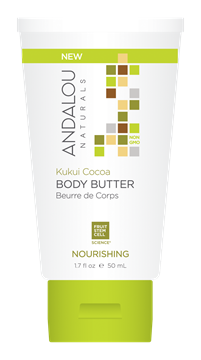 Picture of  Andalou Naturals Kukui Cocoa Nourishing Travel Body Butter, 50ml