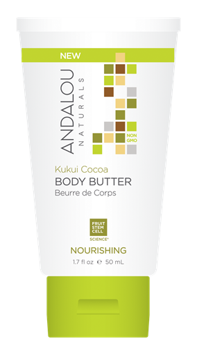 Picture of Andalou Naturals Andalou Naturals Kukui Cocoa Nourishing Travel Body Butter, 50ml