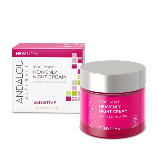 Picture of Andalou Naturals Andalou Naturals 1000 Roses Heavenly Night Cream, 50ml