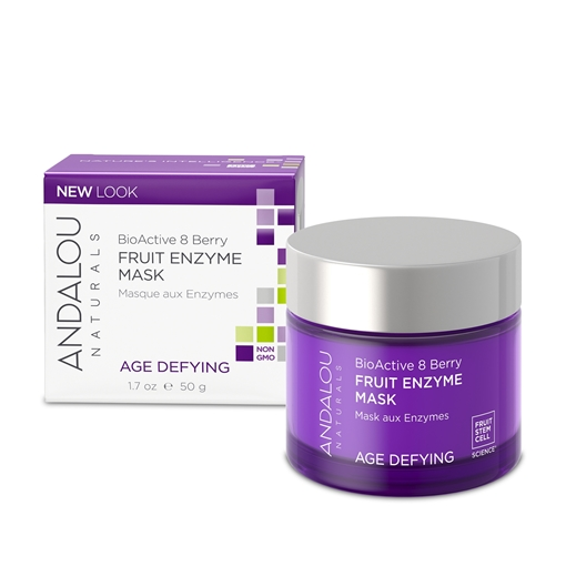 Picture of Andalou Naturals Andalou Naturals BioActive 8 Berry Enzyme Mask, 50g