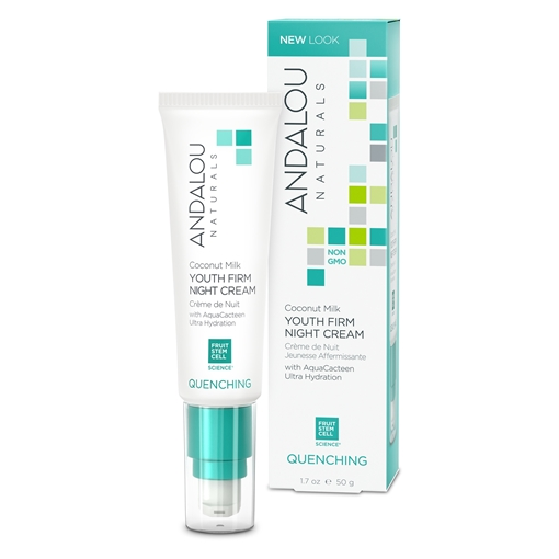 Picture of Andalou Naturals Andalou Naturals Coconut Milk Youth Firm Night Cream, 50g