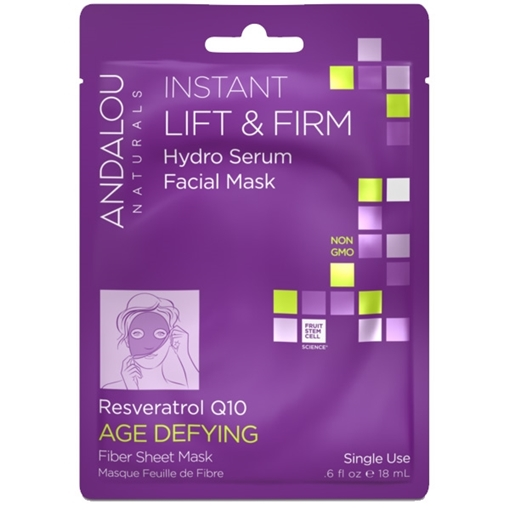 Picture of Andalou Naturals Andalou Naturals Instant Lift & Firm Facial Sheet Mask, Single Sheet 18ml
