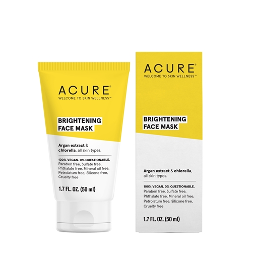 Picture of Acure Acure Brightening Face Mask, 50ml