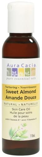 Picture of Aura Cacia Aura Cacia Sweet Almond Skin Care Oil, 118ml