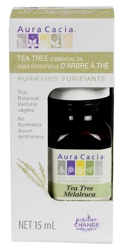 Picture of Aura Cacia Aura Cacia Tea Tree Essential Oil (Boxed), 15ml