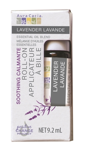 Picture of Aura Cacia Aura Cacia Lavender Roll-On Essential Oil, 9.2ml
