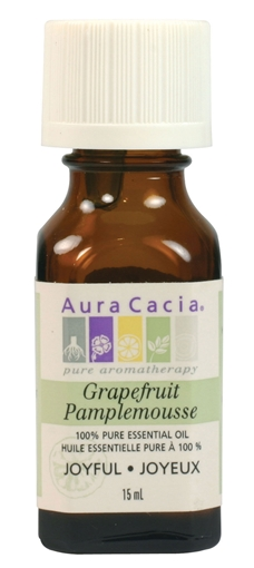 Picture of Aura Cacia Aura Cacia Grapefruit Essential Oil, 15ml