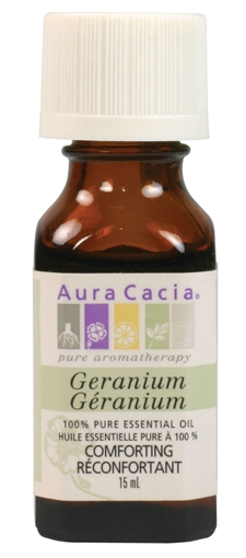 Picture of Aura Cacia Aura Cacia Geranium Essential Oil, 15ml