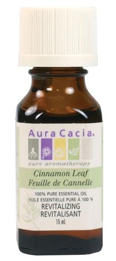 Picture of Aura Cacia Aura Cacia Cinnamon Leaf Essential Oil, 15ml