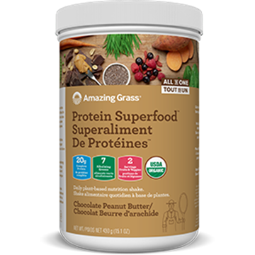 Picture of Amazing Grass Protein Superfood, Chocolate Peanut Butter 430g